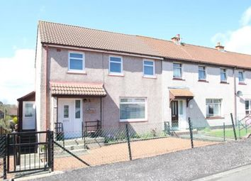 Thumbnail 3 bed end terrace house for sale in Holmburn Avenue, Cumnock, East Ayrshire