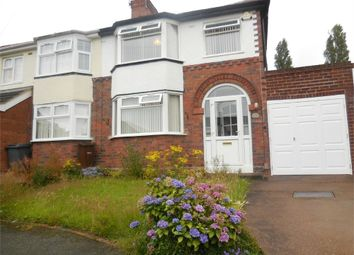 Thumbnail 3 bed semi-detached house to rent in Fancourt Avenue, Penn, Wolverhampton