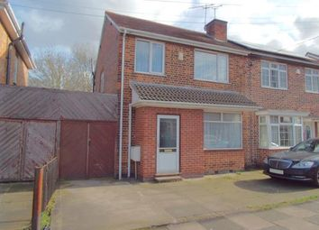 Thumbnail 3 bed semi-detached house for sale in Roseneath Avenue, Leicester, Leicestershire