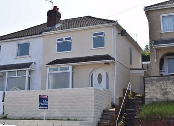 Thumbnail 3 bedroom semi-detached house for sale in Lydford Avenue, St. Thomas, St. Thomas Swansea