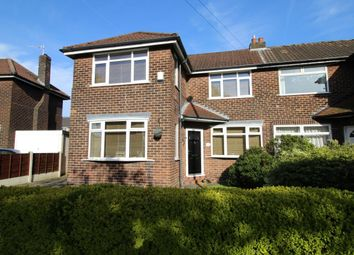 Thumbnail 3 bed semi-detached house for sale in Roundwood Road, Northenden, Manchester