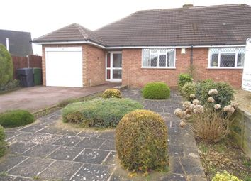 Thumbnail 3 bed semi-detached bungalow for sale in Manor Road, Wythall, Birmingham