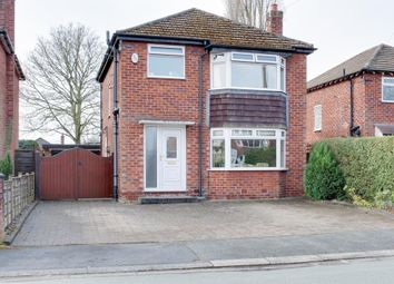 Thumbnail 3 bed detached house for sale in Rostherne Road, Wilmslow