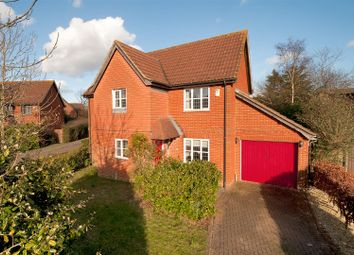 Thumbnail 4 bed detached house for sale in Russett Way, Kings Hill