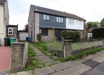 Thumbnail 3 bed semi-detached house for sale in Penistone Avenue, Kingsway, Rochdale