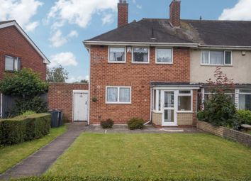 Thumbnail 3 bed end terrace house for sale in Shard End Crescent, Shard End, Birmingham