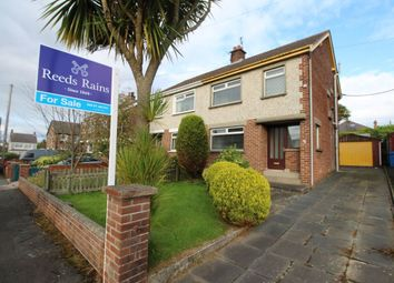 Thumbnail 3 bed semi-detached house for sale in Wellington Drive, Bangor