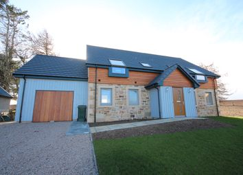 Thumbnail 4 bed detached house for sale in Kinloss, Forres