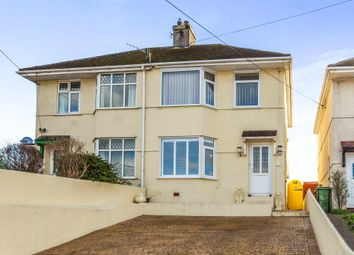 Thumbnail 2 bed semi-detached house for sale in Springfield Road, Elburton, Plymouth