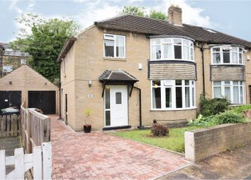 Thumbnail 3 bed semi-detached house for sale in Glebelands Drive, Leeds