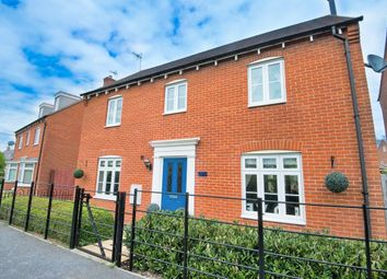 Thumbnail 4 bedroom detached house for sale in Peachey Walk, Stansted