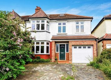 Thumbnail 5 bed semi-detached house for sale in Chiltern Drive, Berrylands, Surbiton, Surrey