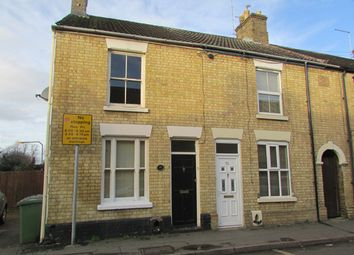 Thumbnail 2 bedroom end terrace house for sale in Palmerston Road, Peterborough