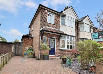 Thumbnail 3 bedroom semi-detached house for sale in Glebe Avenue, Grappenhall, Warrington