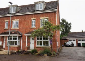 Thumbnail 4 bed town house for sale in Middlebrook Green, Market Harborough