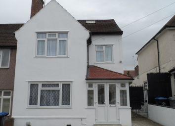 Thumbnail 6 bed end terrace house for sale in Warren Road, Neasden