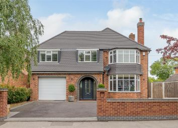 Thumbnail 4 bed detached house for sale in Bryanston Road, Solihull