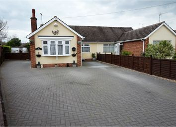 Thumbnail 3 bed bungalow for sale in Woodland Close, Northampton