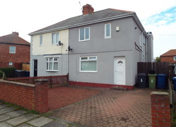 Thumbnail 3 bed semi-detached house to rent in Naworth Terrace, Jarrow