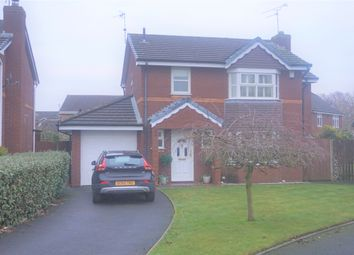 Thumbnail 4 bedroom detached house for sale in Newbury Close, Widnes