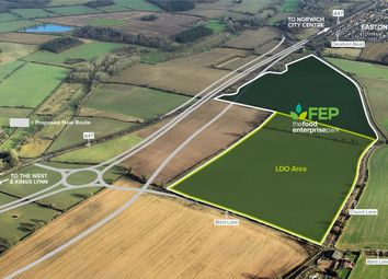 Thumbnail Land for sale in Dereham Road, Easton, Norwich