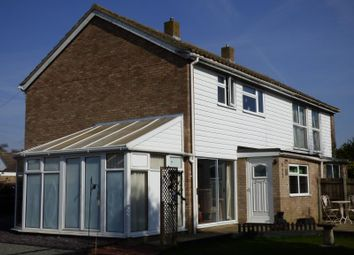 Thumbnail 3 bed semi-detached house for sale in Rothbury Road, Wymondham, Norfolk