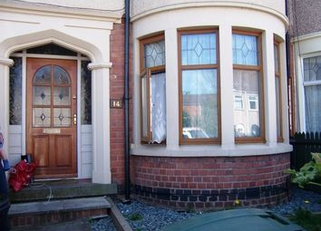Thumbnail 3 bed terraced house for sale in Hazel Road, Coventry