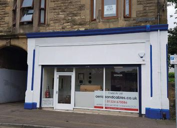 Retail premises to let in Main Street, Camelon, Falkirk FK1