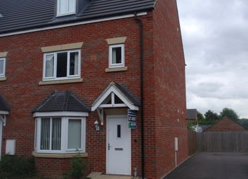 Thumbnail 4 bed end terrace house to rent in Massey Court, Newark