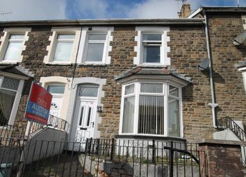 Thumbnail 3 bed terraced house for sale in John Street, Bargoed, Caerphilly Borough