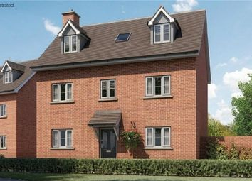Thumbnail 4 bed detached house for sale in The Curtiss At Chiswell Place, New Cardington, Bedfordshire