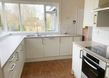 Thumbnail 4 bedroom bungalow to rent in Oundle Road, Orton Longueville, Peterborough