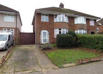 Thumbnail 3 bed semi-detached house for sale in Linnell Road, Rugby
