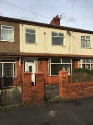 Thumbnail 3 bedroom terraced house to rent in Queens Road, Preston