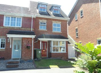 Thumbnail 4 bed end terrace house to rent in Parkside Place, Staines