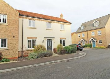 Thumbnail 3 bed semi-detached house to rent in Meadow Way, Ely