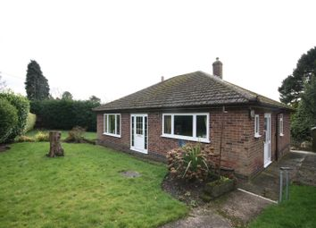 Thumbnail 3 bed detached bungalow for sale in Ashby Road, Ravenstone, Coalville