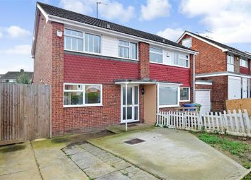 Thumbnail 3 bed semi-detached house for sale in Coombe Drive, Sittingbourne, Kent
