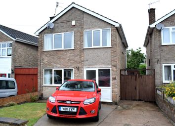 Thumbnail 3 bed detached house for sale in Barlow Drive South, Awsworth, Nottinghamshire