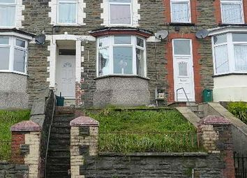Thumbnail 3 bed terraced house for sale in 48 Chepstow Road, Cwmparc