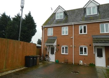 Thumbnail 3 bed town house to rent in Lindum Mews, North Hykeham, Lincoln