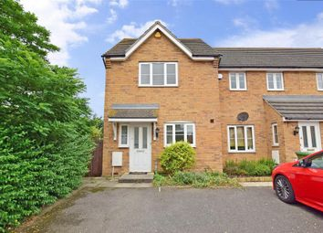 Thumbnail 2 bed end terrace house for sale in Galt Close, Wickford, Essex