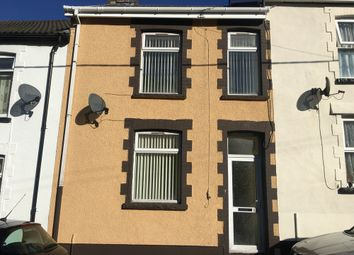 Thumbnail 3 bed terraced house to rent in Glan Ebbw Terrace, Abertillery, Gwent