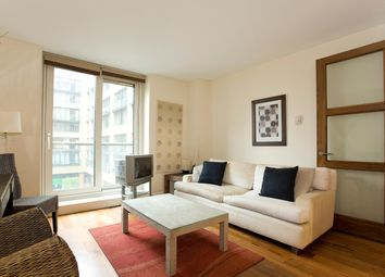 Thumbnail 1 bed flat to rent in Westcliffe Apartments, South Wharf Road, London