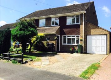 Thumbnail 3 bed semi-detached house for sale in Highland Drive, Oakley, Basingstoke