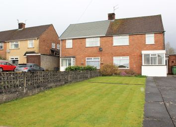 Thumbnail 3 bed semi-detached house for sale in Llanon Road, Llanishen, Cardiff