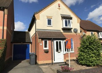Thumbnail 3 bed detached house for sale in Garden Close, Burbage, Hinckley