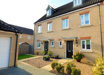 Thumbnail 3 bed semi-detached house to rent in Chestnut Place, Cringleford, Norwich