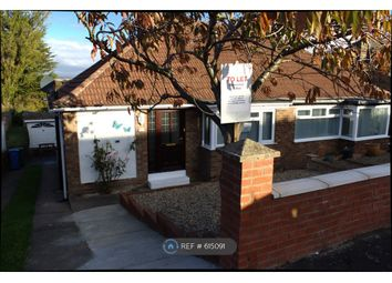 Thumbnail 2 bed bungalow to rent in Red Scar Drive, Scarborough