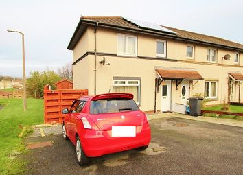 Thumbnail 2 bedroom end terrace house for sale in 88 Gallowhill Rise, Stranraer